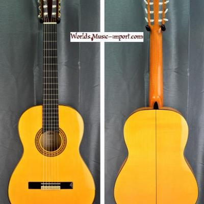 RESERVEE... Aria 4/4 ACE-F Concert Flamenca Natural gloss 2012 - made in Spain - import *OCCASION*