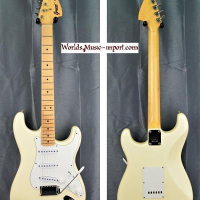 VENDUE... Greco Stratocaster Super Sounds SE600 White 1976 japon import *OCCASION*