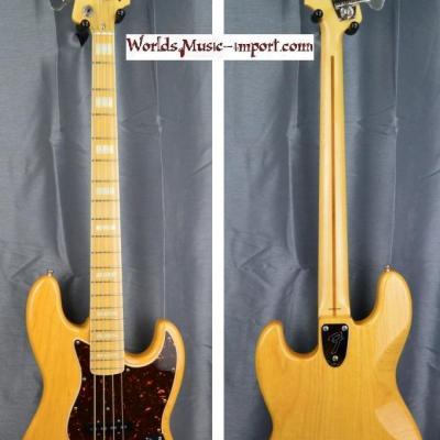VENDUE... FENDER Jazz Bass JB'75-ASH NAT/M 2010 japon import *OCCASION*