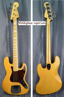 FENDER Jazz Bass JB'75-ASH NAT/M 2010 japon import *OCCASION*