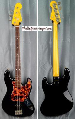 VENDUE... FENDER Jazz Bass '62-DMC Black 'Ltd Ed.' 2006 Japon Import *OCCASION*