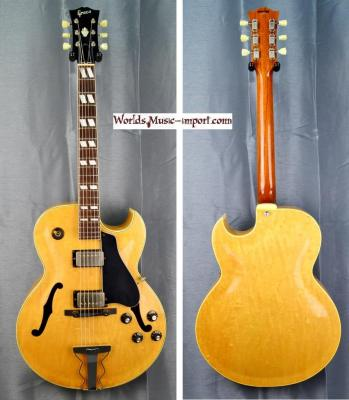GRECO Jazz FA-80 ES175 Natural gloss 1990 japon import *OCCASION*