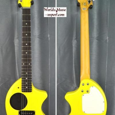 FERNANDES Mini-guitare ZO-3 Yellow import japon *OCCASION*