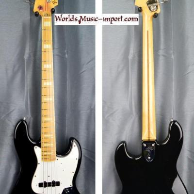 FENDER Jazz Bass '75-US RI black 1999 japon import *OCCASION*