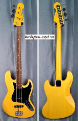 FENDER Jazz Bass '62 Vintage Natural'60  2017 japon import *OCCASION*