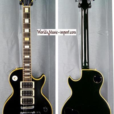 GRECO Les Paul Custom EGC600 HHH Peter Frampton 1977 black japan import *OCCASION*