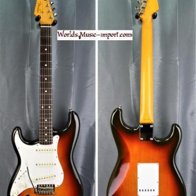 VENDUE... FENDER Stratocaster ST'62-LH SB 'gaucher' 2007 japon import *OCCASION*