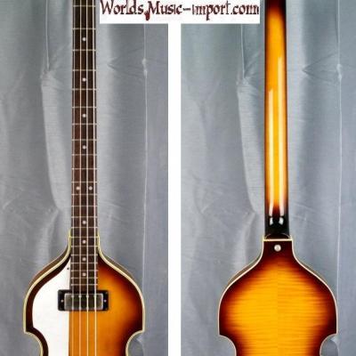 GRECO VB-80 LH bass violin 'GAUCHER' 2001 Sunburst Beatles japon import *OCCASION*