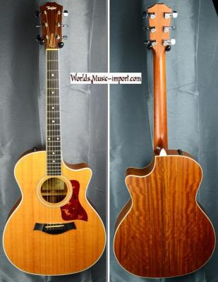 VENDUE... TAYLOR folk 414 CE Grand Auditorium Natural 2008 + étui USA *OCCASION*
