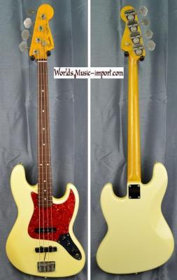 RESERVEE... FENDER Jazz Bass '62-US VWH 1998 Japon import  *OCCASION*