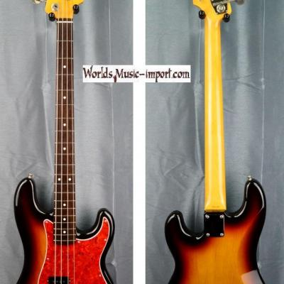 VENDUE... FENDER Precision Bass PB'62 US 'order made' 3 TS 1993 Japon import *OCCASION*