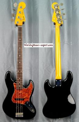 FENDER Jazz Bass JB'62-US Black 1998 Japon import *OCCASION*