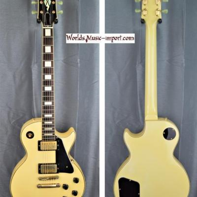 VENDUE... TOKAI Les Paul Custom LC60 White 1984 japon import *OCCASION*