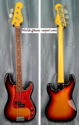 VENDUE... FENDER Precision Bass PB'62 RI 3TS 1994 Japon Import *OCCASION*