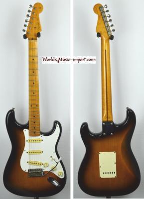 VENDUE... FENDER Stratocaster 57'-US 2TS post JV 1986 Japan *OCCASION*