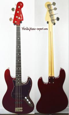 VENDUE... FENDER Jazz Bass AERODYNE Deluxe CAR 2013 japon *OCCASION*