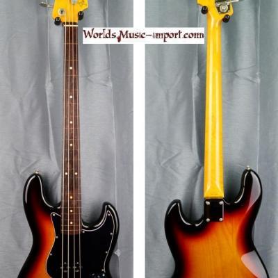 VENDUE... FENDER Jazz Bass '62-US FL 3TS Fretless