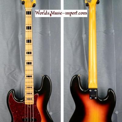 VENDUE... GRECO Jazz Bass LH JB-450 'gaucher' Sunburst 1974