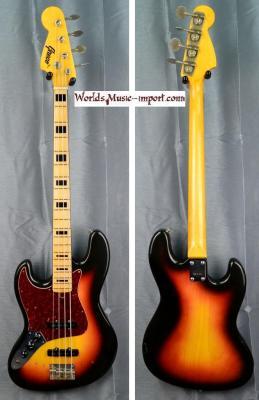 GRECO Jazz Bass LH JB-450 'gaucher' Sunburst 1974