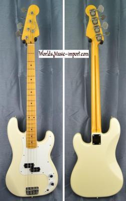 VENDUE... FENDER Precision BassPB '57 White 1993 Japon import *OCCASION*