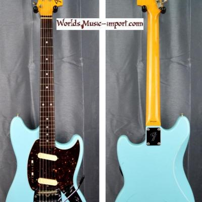 VENDUE... FENDER Mustang MG'69 sonic blu 2008 japan import *OCCASION*