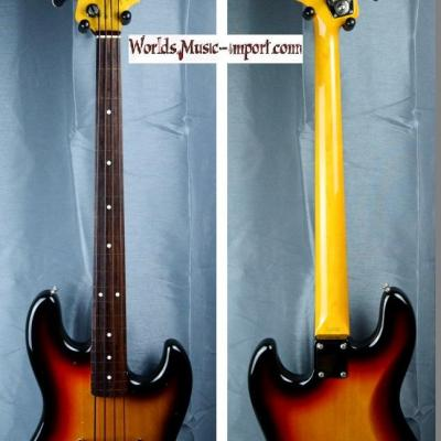FENDER Jazz Bass JB'62-US FL 3ts Fretless 2004 japon import *OCCASION*