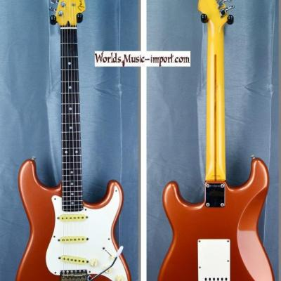 VENDUE... FENDER Stratocaster ST'62 Burgundy Mist Metallic  'Order made' RARE 1988 japon import *OCCASION*