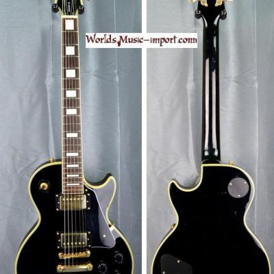 VENDUE... Epiphone by GIBSON Les Paul Custom Black 1998 import *OCCASION*