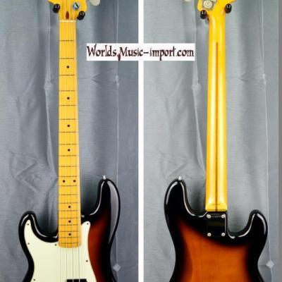 VENDUE... Fender Precision Bass PB'57 LH 1990 2 tons sunburst 'gaucher' Japon import *OCCASION*