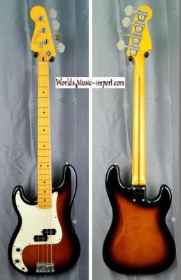 Fender Precision Bass PB'57 LH 1990 2 tons sunburst 'gaucher' Japon import *OCCASION*