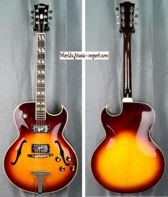 GRECO Jazz S-50 Sunburst FA67' Es175 1972 Japon Import *OCCASION*