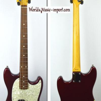 VENDUE... FENDER Mustang Bass OCR Racing CO 2012 Japon import RARE *OCCASION*