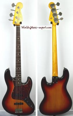VENDUE... FENDER Jazz Bass '62-US 3TS 2000 Japon Import *OCCASION*