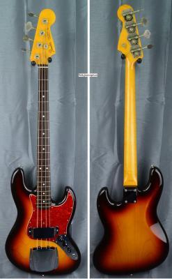 VENDUE... FENDER Jazz Bass JB'62-95 US 3TS 1991 RARE japon  *OCCASION*