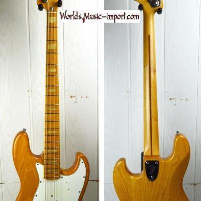 VENDUE... Fender Jazz Bass JB'75 Reissue  1985 ASH nitro natural 'Post JV' Japon import RARE *OCCASION*