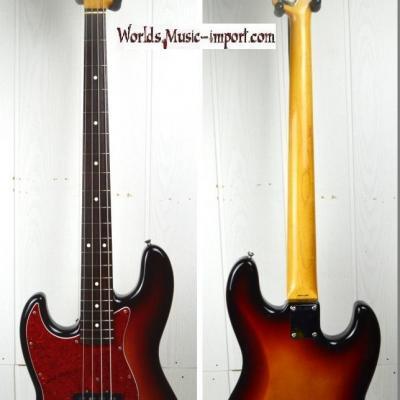 VENDUE... FENDER Jazz Bass JB'62- LH gaucher 3TS 1991 japon import *OCCASION*