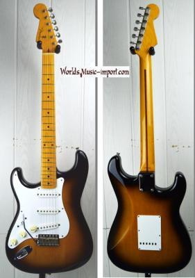 VENDUE... FENDER Stratocaster '57-LH 2TS 2007 Gaucher Japon import *OCCASION*