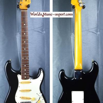 VENDUE... FENDER Stratocaster ST'62 RI Black 1985 'post JV' RARE japan Import  *OCCASION*