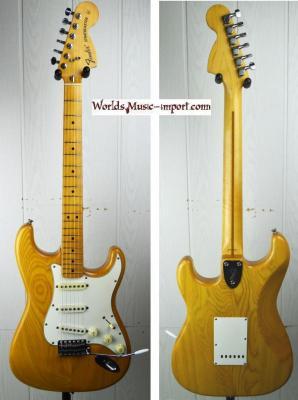 VENDUE... FENDER Stratocaster '72 ASH Nat 1993 japon import *OCCASION*