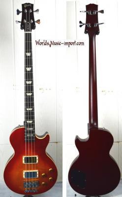 VENDUE... GIBSON Les Paul Bass LPB-3 1995 Heritage Cherry Sunburst 'touche EBENE' US Import *OCCASION*