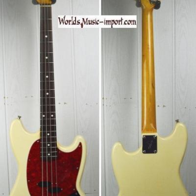 VENDUE... FENDER Mustang Bass MB'98 VWH 1998 '1ere série' japon RARE import *OCCASION*