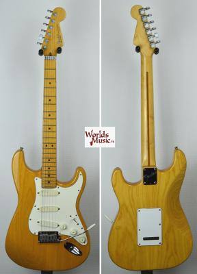VENDUE... FENDER Stratocaster American Plus Deluxe ASH 1993 *OCCASION*