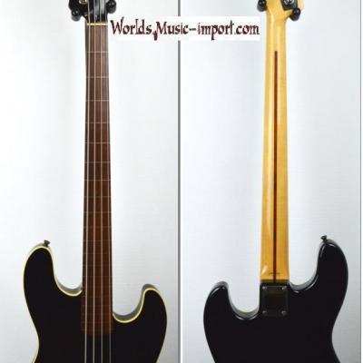 VENDUE... FENDER Jazz Bass Aerodyne AJB Deluxe  'Fretless' Black 2002 ' RARE ' Japon import*OCCASION*