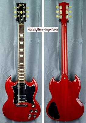VENDUE... GIBSON SG Standard Heritage Cherry 2000 USA import *OCCASION*