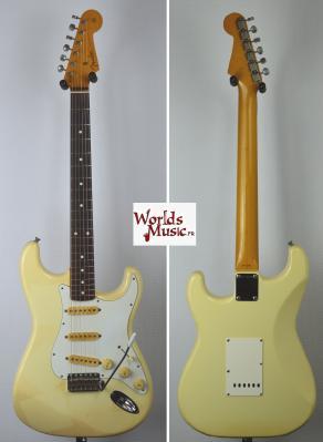 VENDUE... FENDER Stratocaster 62' reissue WHITE 1989 JAPON *OCCASION*