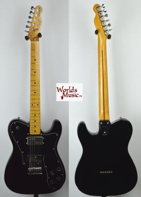 VENDUE... SQUIER JV Telecaster 72' Custom Black 1984 Japon *OCCASION*