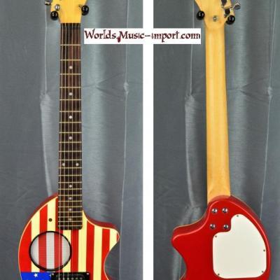 FERNANDES Mini-guitare ZO-3 Drapeau USA 'RARE'  japan import *OCCASION*