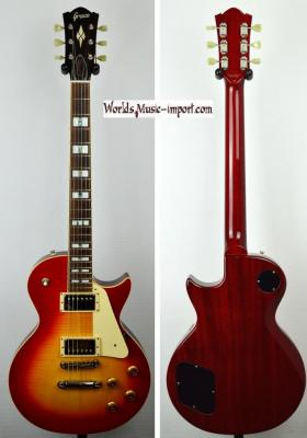 GRECO Les Paul GT-950 S Cherry Red Sunburst Flame Top 2003 Japan Import *OCCASION*