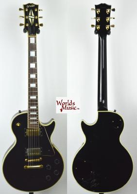 VENDUE... ORVILLE Les Paul Custom BLACK 1995 Japon IMPORT *OCCASION*