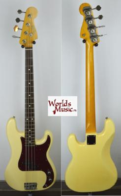 VENDUE... FENDER Precision Bass 62' JV VWH 1982 Japan Import *OCCASION*